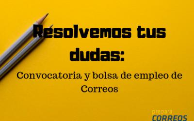 Diferencia entre la convocatoria y la bolsa de empleo de Correos