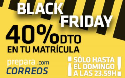 Aprovecha las ofertas del Black Friday en Preparacorreos
