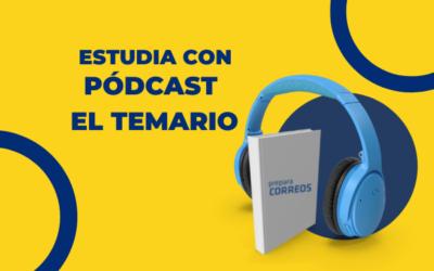 Aprueba las oposiciones con los podcast de Preparacorreos