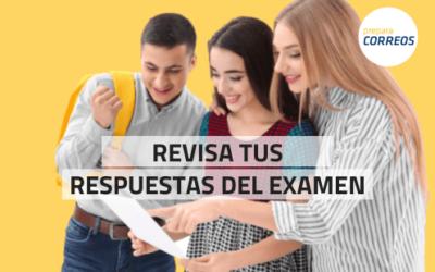 Publicadas las soluciones del examen de Correos